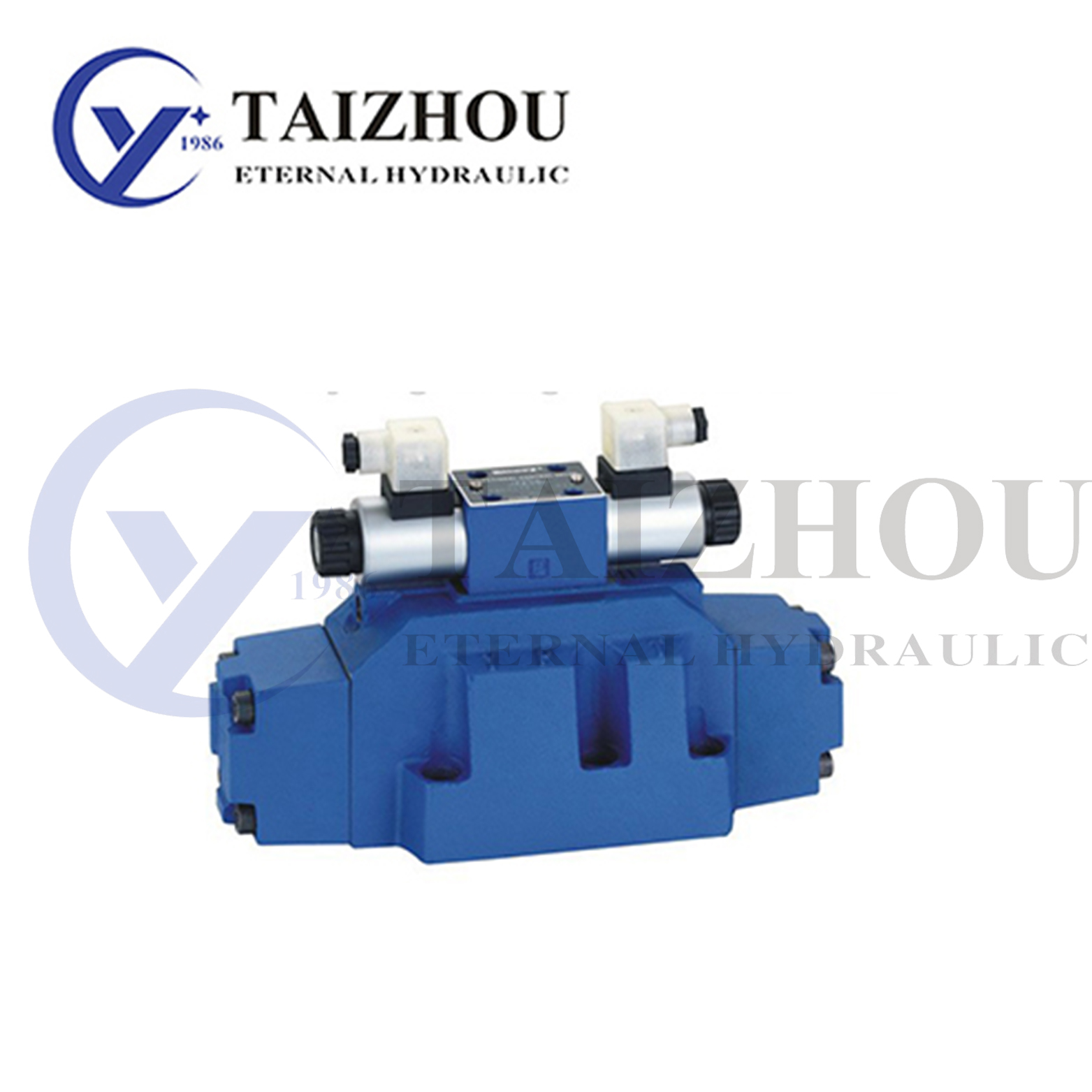 WEH Series Solenoid Controlled Pilot Operated Directional Valve