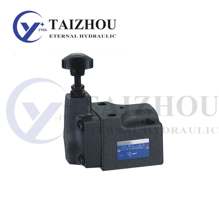 BG Series Polit Operated Relief Valve