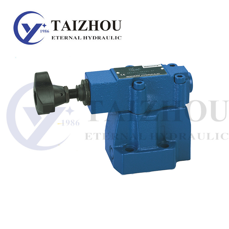 DZ series hydraulic pilot operated pressure sequence valve