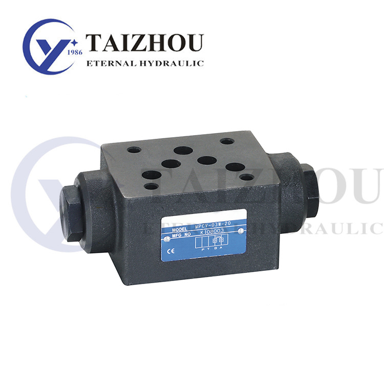 MPCV Series Modular Hydraulic Operated Check Valve