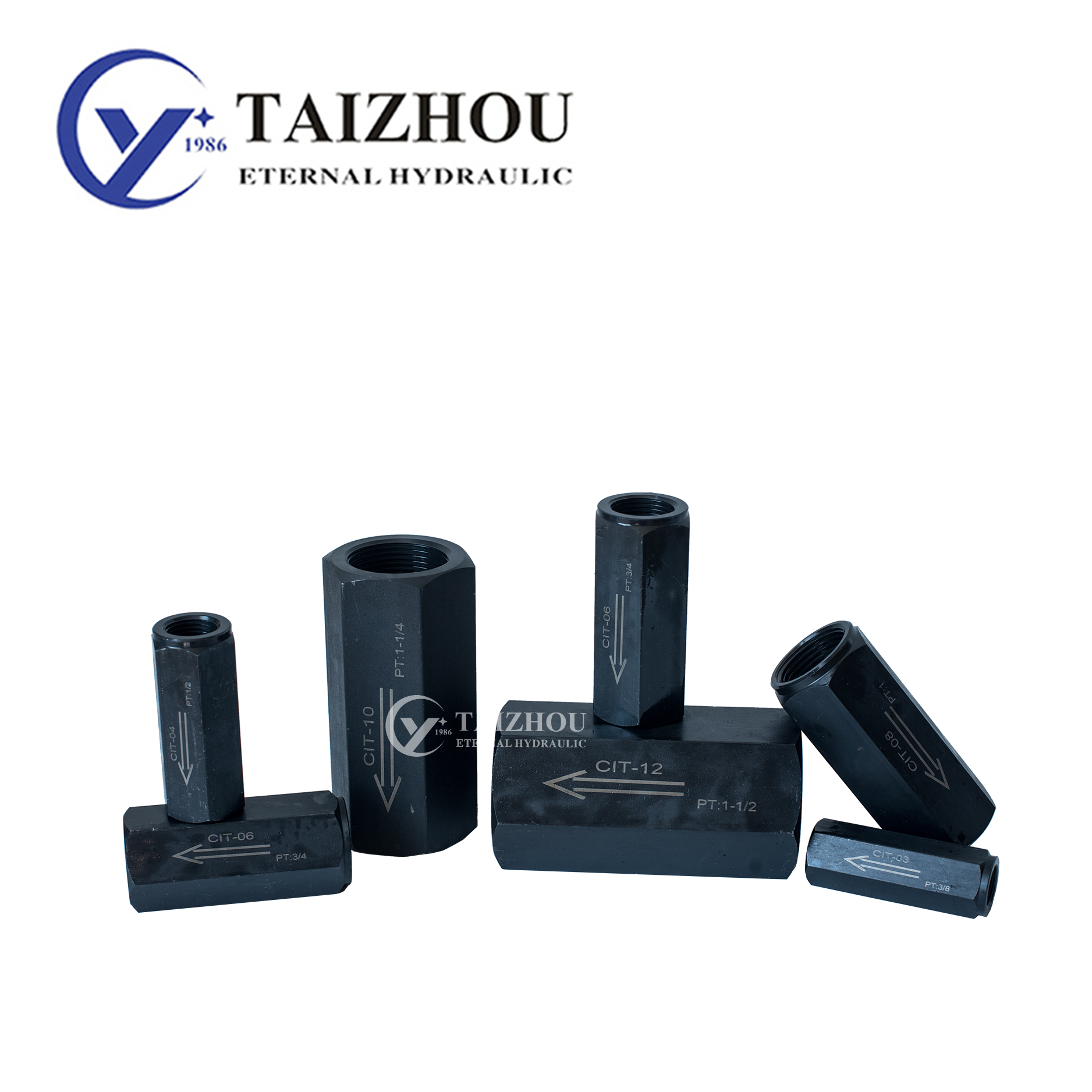 Yuken CIT 02 03 04 Type Tube Check Valve