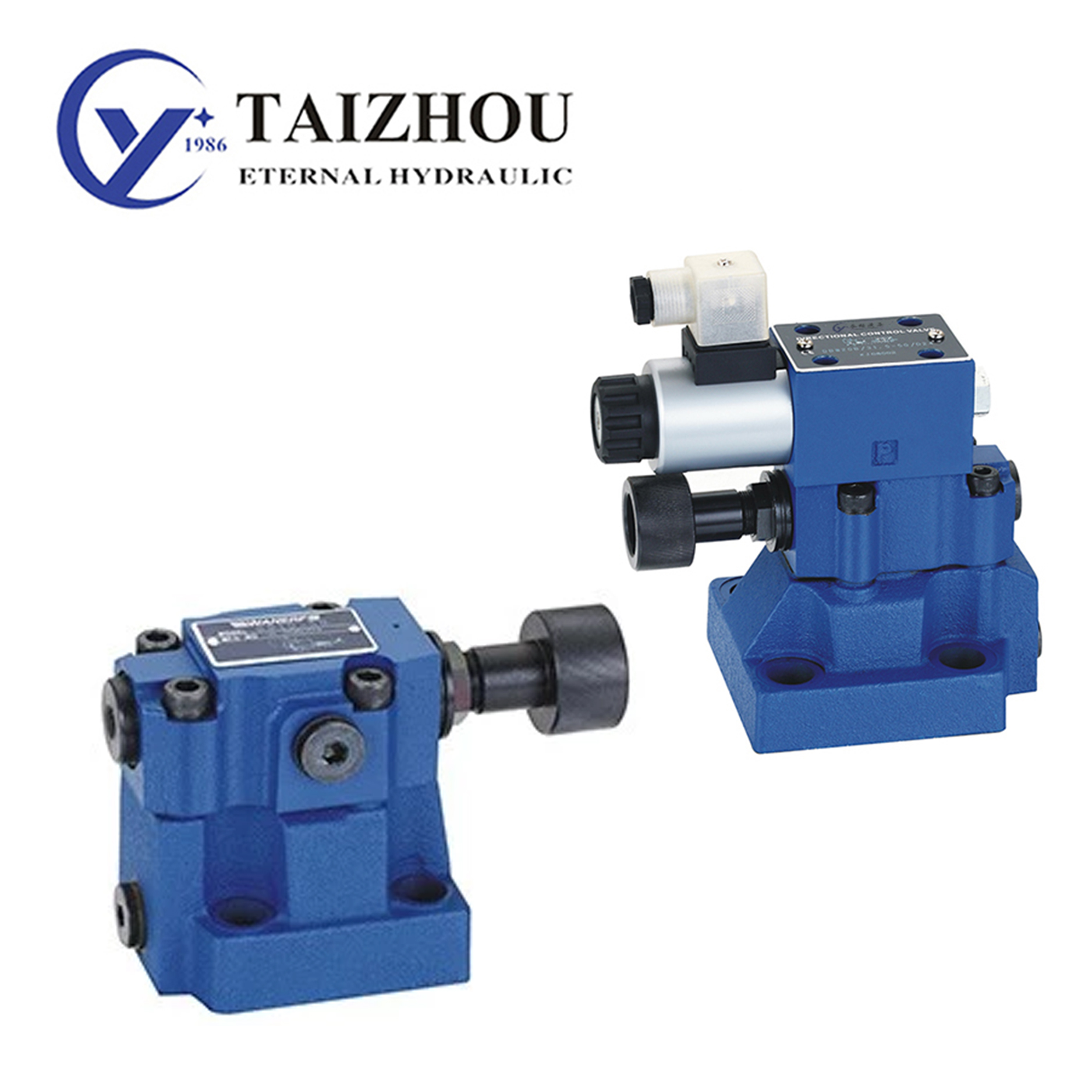 DB(W) Pressure Pilot Operated Relief Valve