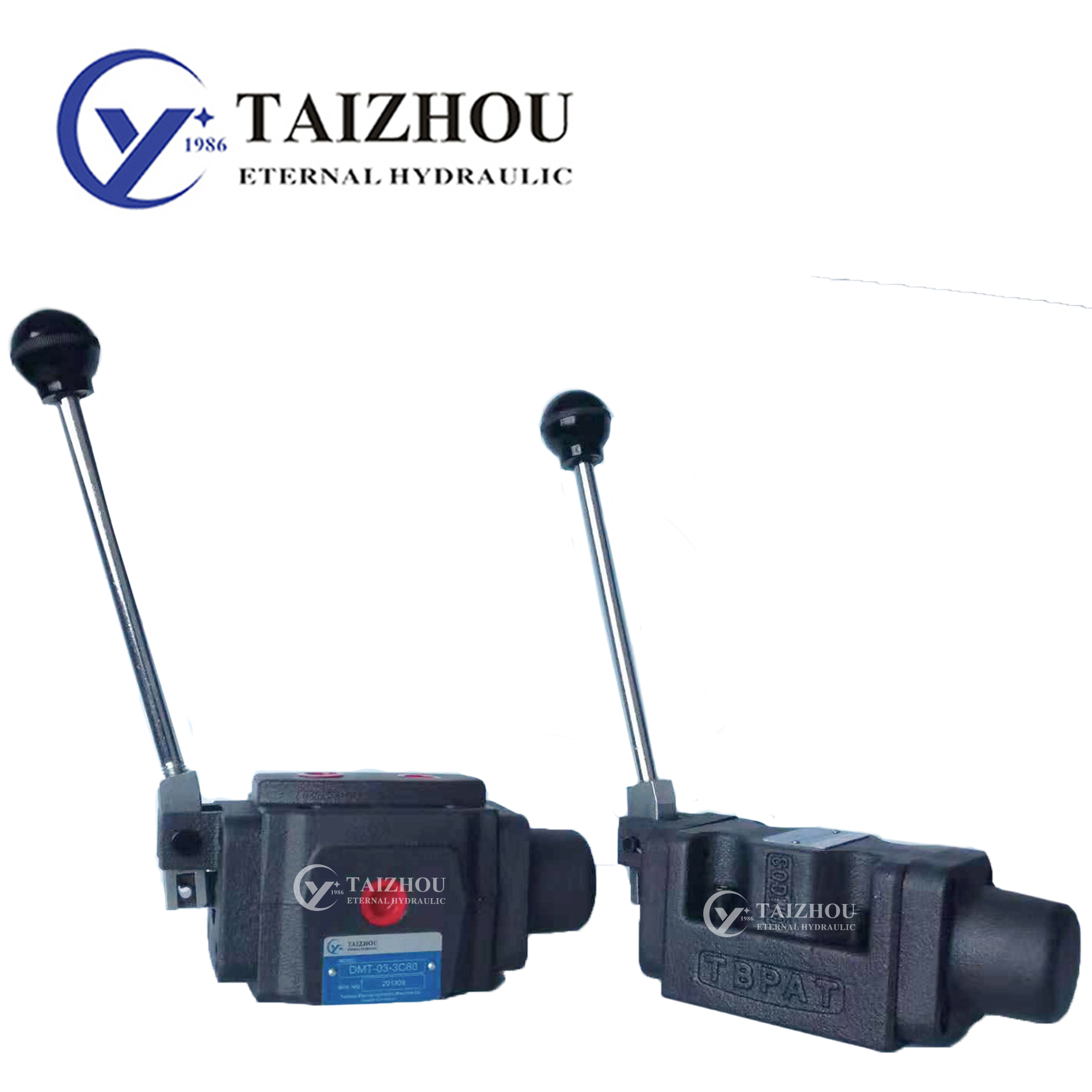 DM Series DMT DMG Manual Operated Directional Valve